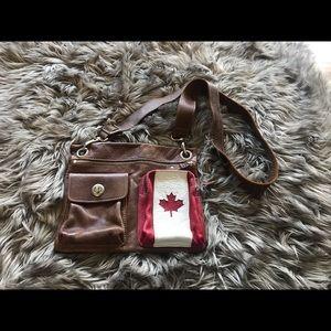 Roots Canada village bag